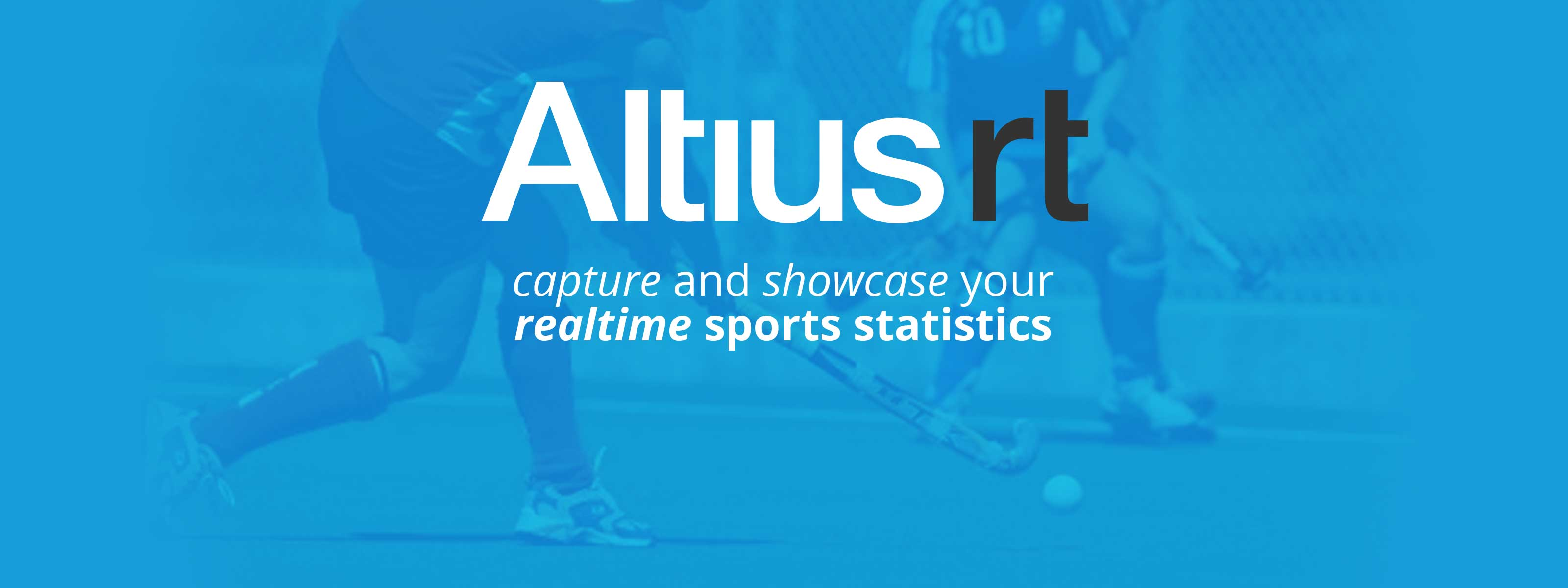 capture and showcase your realtime sports statistics